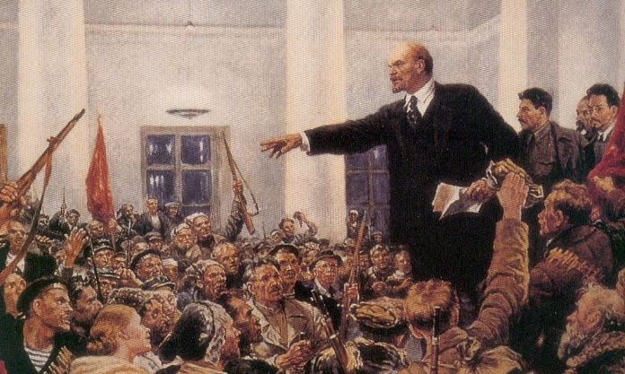 Революция о которой много и упорно говорили большевики